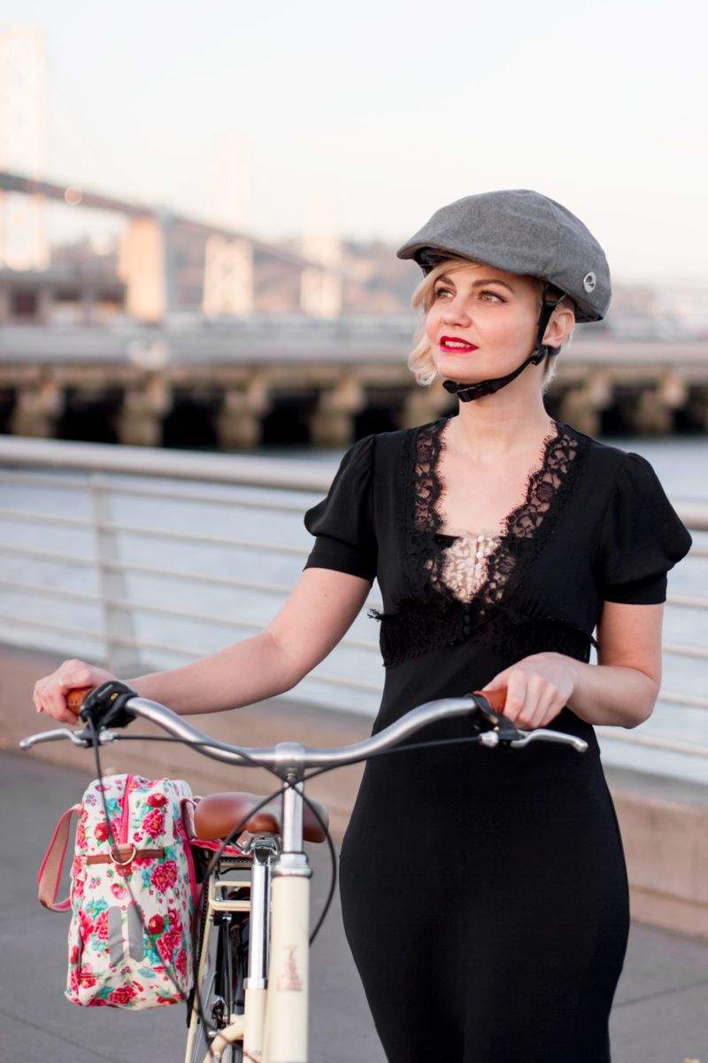 """""""You look like you biked out of a time machine!"""" Vintage style from Bike Pretty"""