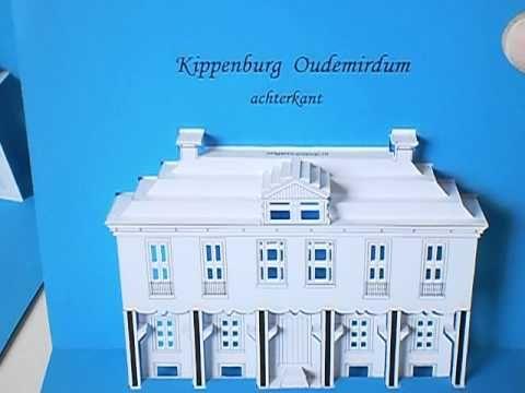 pop-up kaart van Kippenburg