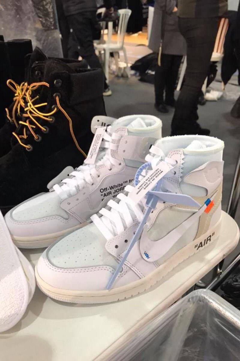 Off White Jordan 1 from