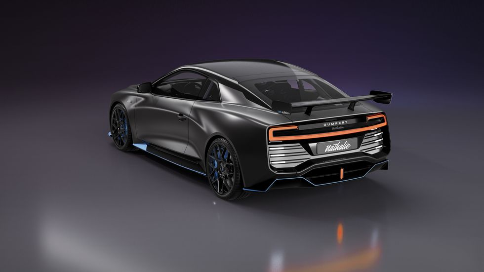 Gumpert Nathalie in 2020 Fuel cell, Fuel cell cars