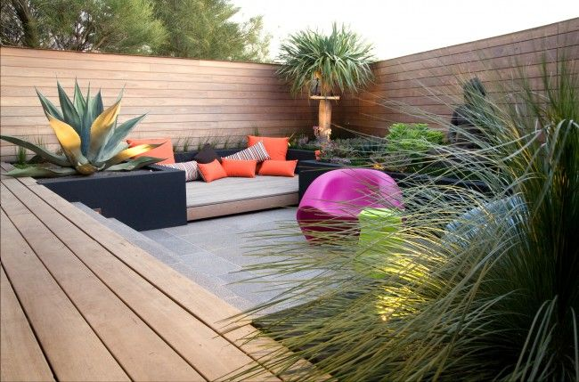 meditative landscape design created