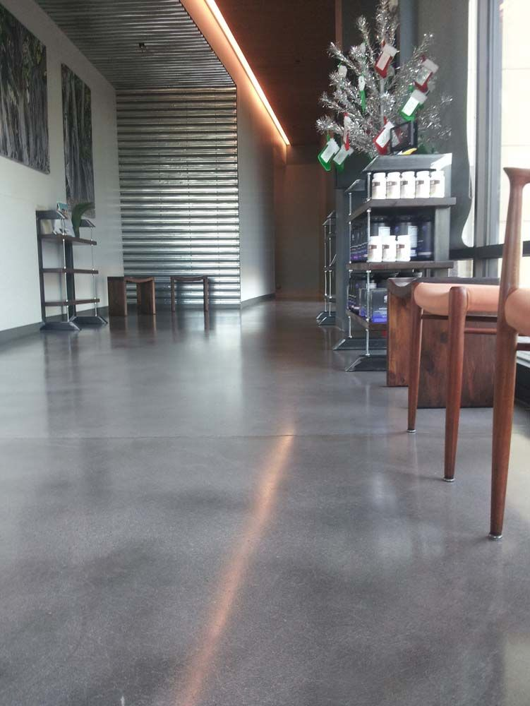 grey stained concrete floors. gray brown stained concrete floors  Natural Gray Concrete Flooring Arizona I SEEM TO BE Grey Floor with Sealer like this depth nice