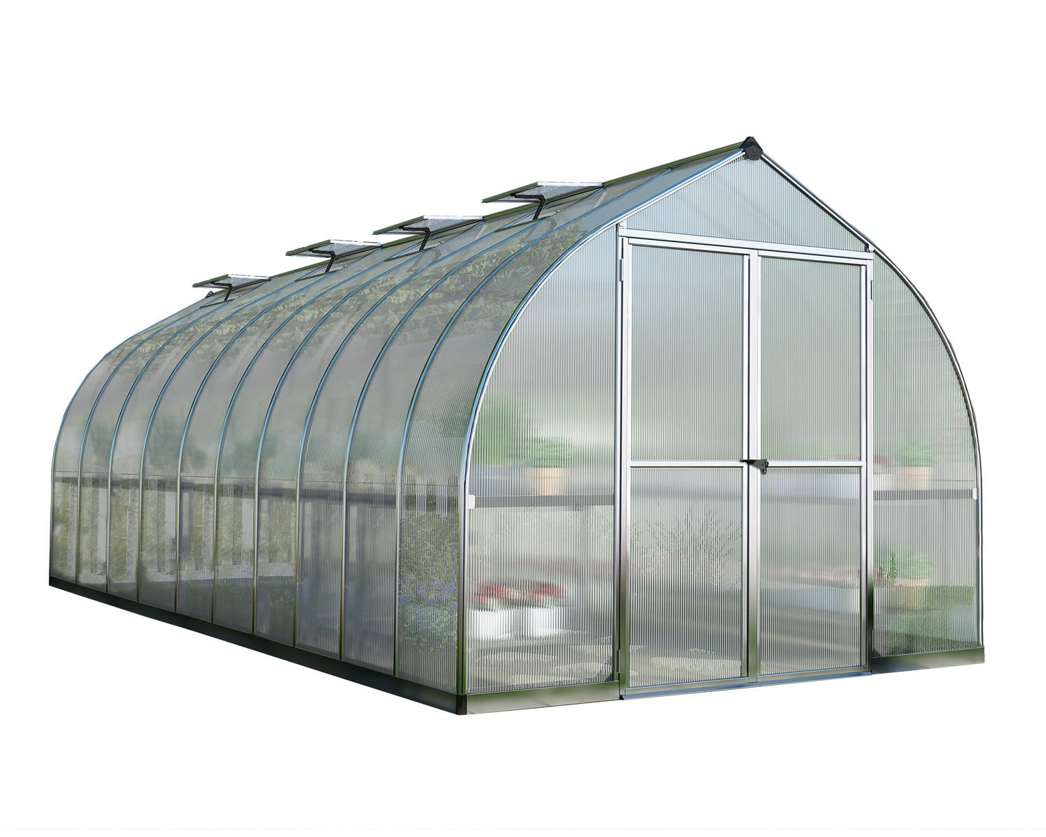 Palram Bella 8x20 Polycarbonate Greenhouse   Grow Your Own