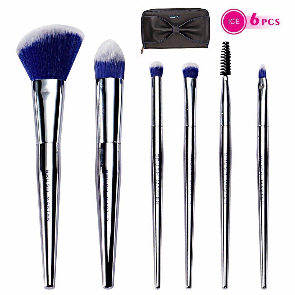 5f705ff1c1b5 BM 6Pcs Makeup Brushes Premium Synthetic Hair For Face & Eye ...