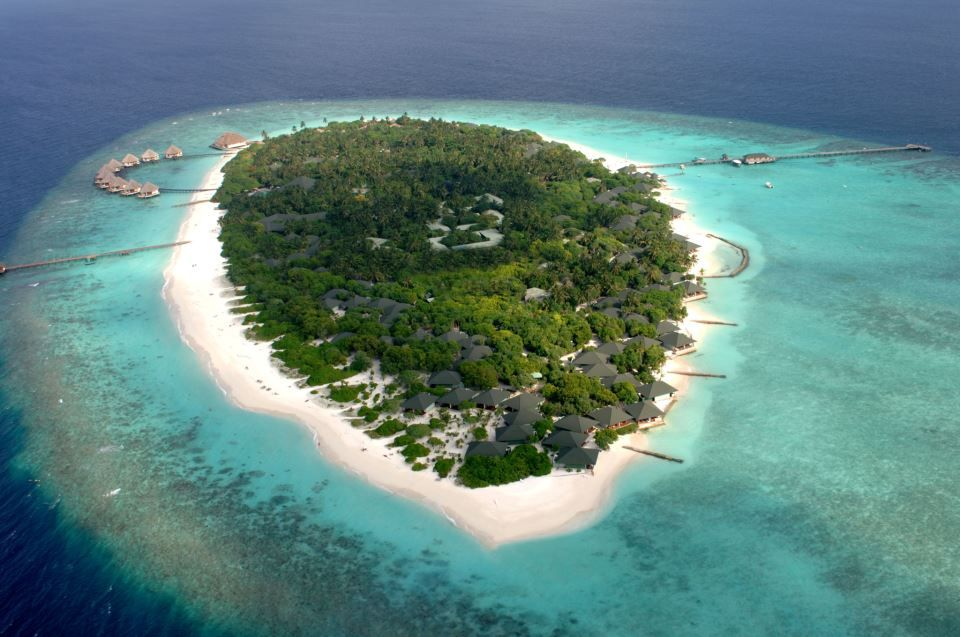 Olhuveli island Over View