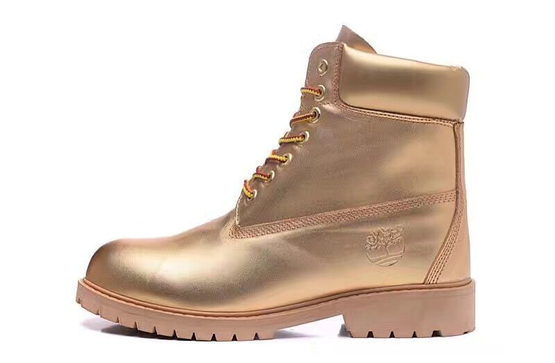 Timberland Authentic Mens 6 Inch Boots-All Gold
