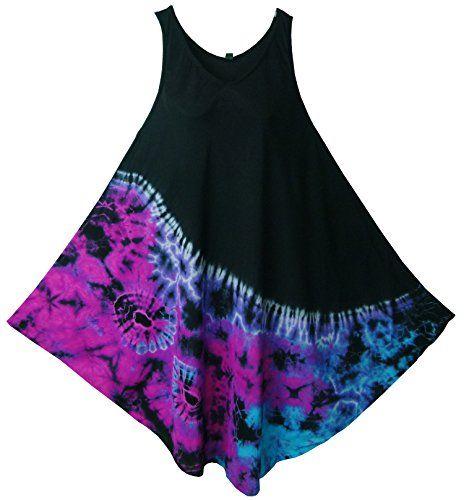 Pikulla Half Moon Sleeveless Women's Tie Dye Black Blue Hippie Gypsy Sundress X-Large Pikulla http://www.amazon.com/dp/B00XSXQWQC/ref=cm_sw_r_pi_dp_-Gaowb1DK9P58