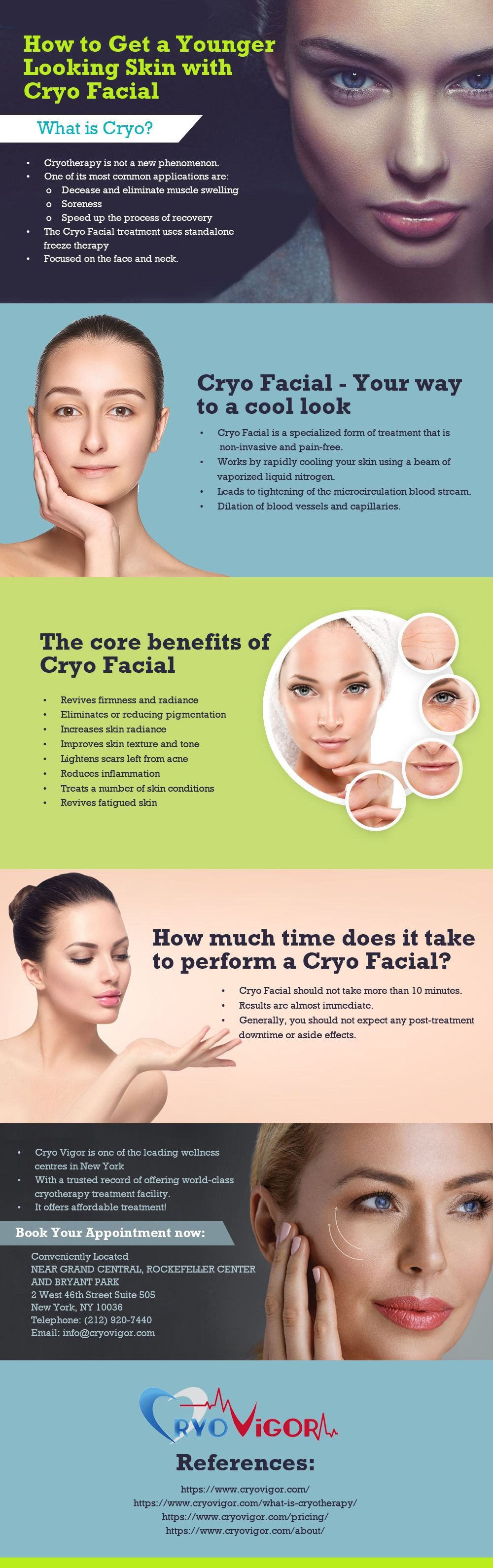 How To Get A Younger Looking Skin With Cryo Facial Cryo Facial Cryotherapy Cryotherapy Benefits