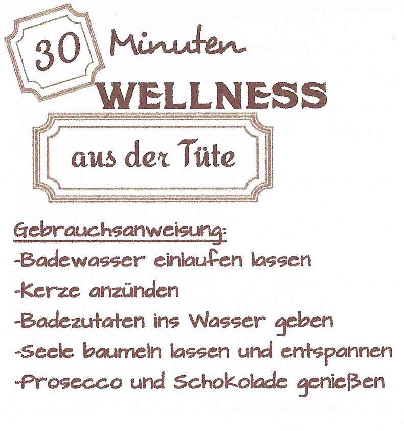 Bildergebnis Für 15 Minuten Wellness In Der Tüte
