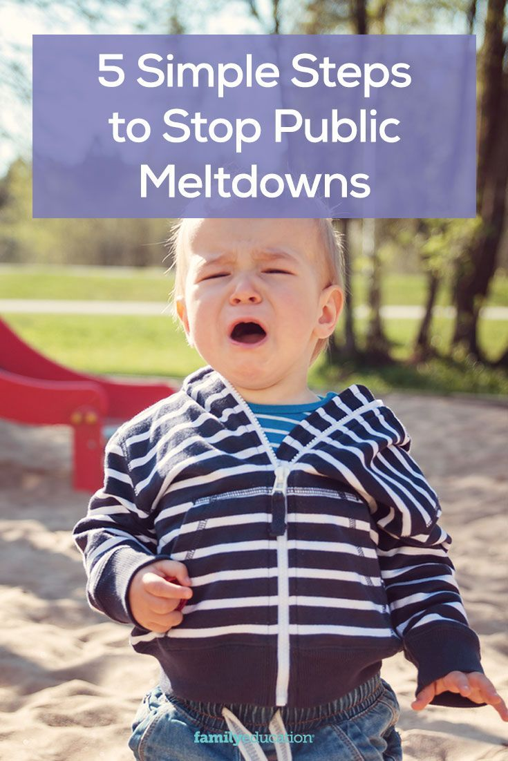 5 Simple Steps for Stopping Public Meltdowns #discipline