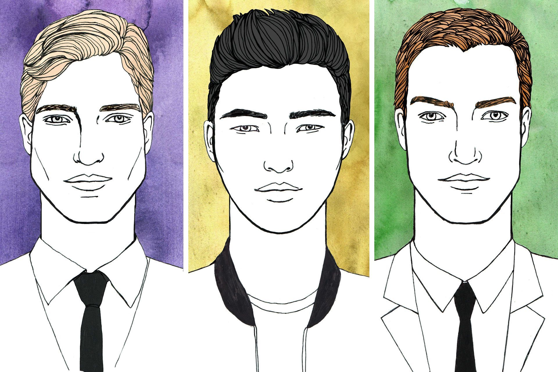 We Break Down The Best Men S Hairstyles To Suit Every Kind Of Face Shape No Matter What Type Hair You Have Plus How Work Out Your In
