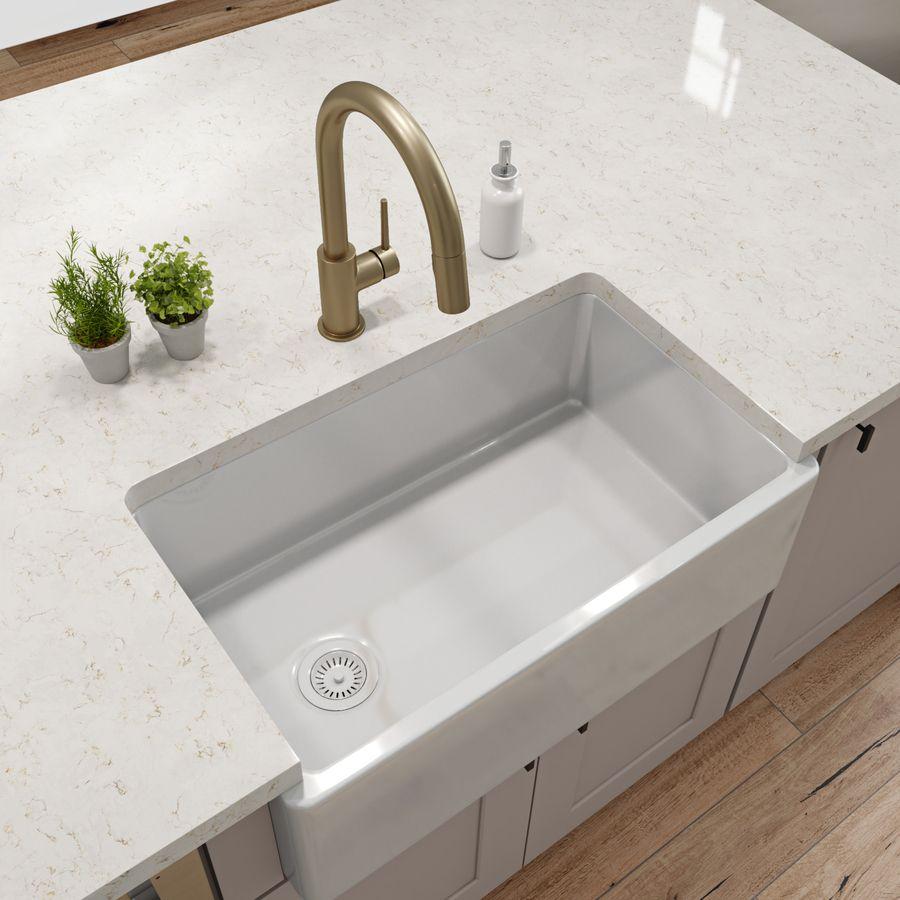 Product Image 2 Sink Fireclay Sink Single Basin