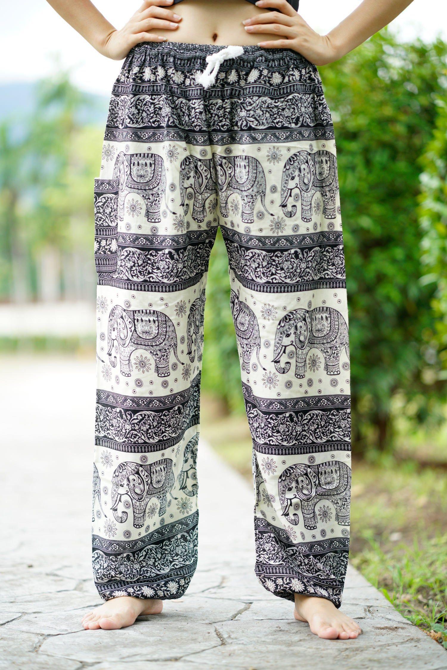 Turquoise Wrap around pants,comfy pants,Beach pants,hippie pants vacation pants,Open Leg Pants,Free Shipping