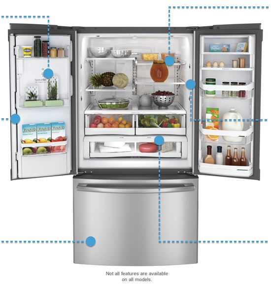Ge French Door Fridge Ill Take One Kitchen Products