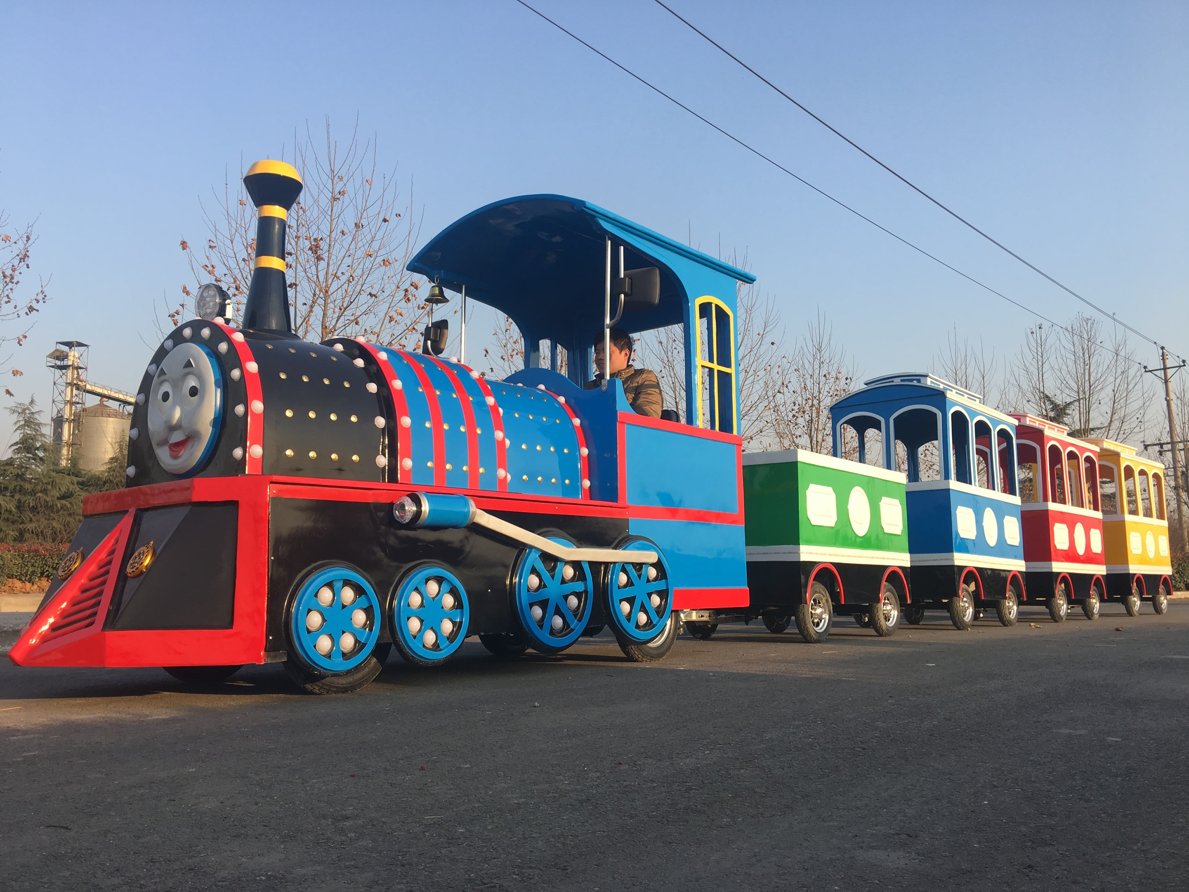 Super Fun Thomas Mini Electric Kids Ride Indoor Mall Train Trackless For Sale Trains For Sale Model Trains Train