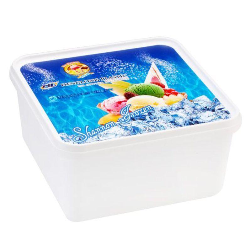 2000ml-iml-ice-cream-containers-square, ice cream lid, ice cream in cup, ice cream packaging containers, ice cream cup containers.
