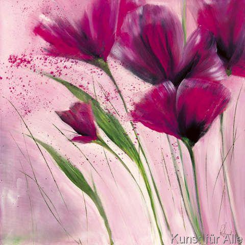 Pinturas Fluidas Mit Bildern Blumen Malen Blumen Malen Acryl