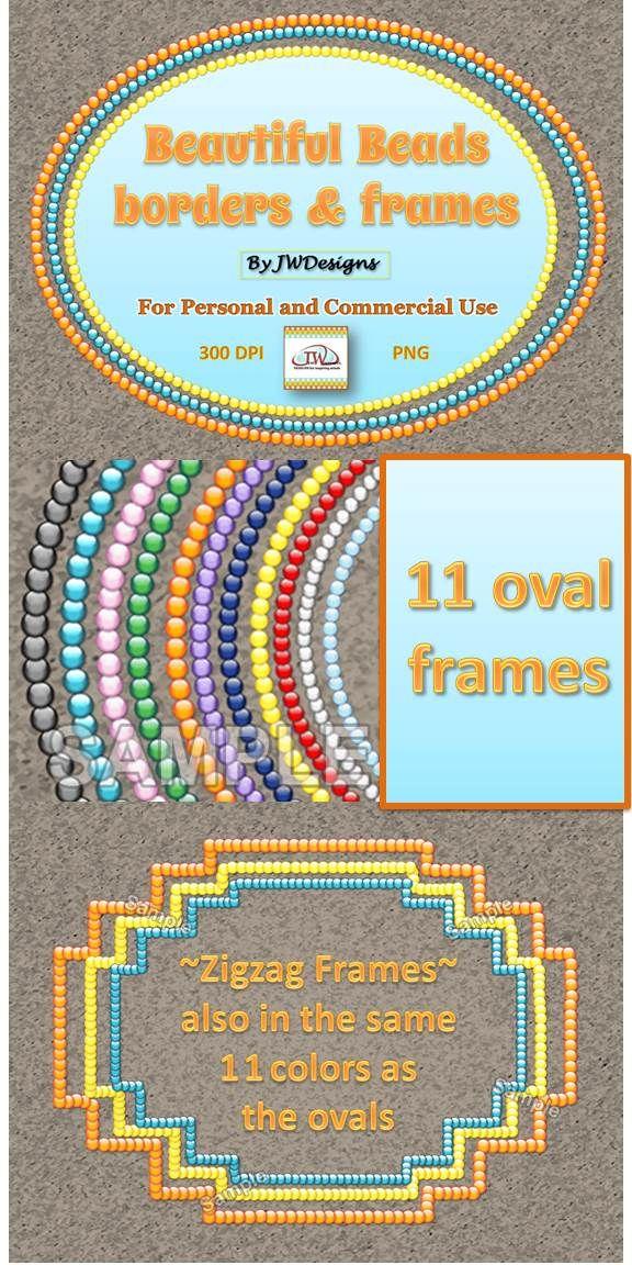 Frames and Borders - Clip Art #framesandborders
