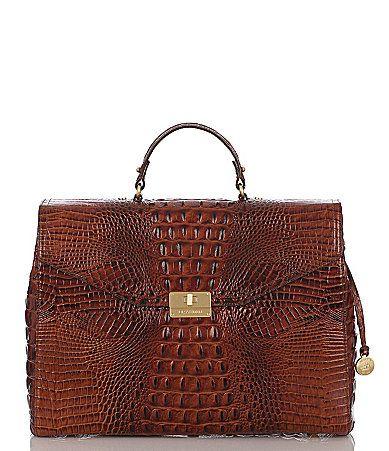 Brahmin Melbourne Collection Andrea Satchel  My newest bag.  Love it!  Gorgeous color.