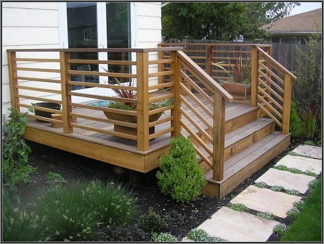 Best Simple Deck Railing Ideas Jpg 1 084×816 Pixels Railing 400 x 300
