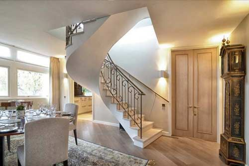 Best Bespoke Helical Staircase Bespoke Staircases Staircase 640 x 480