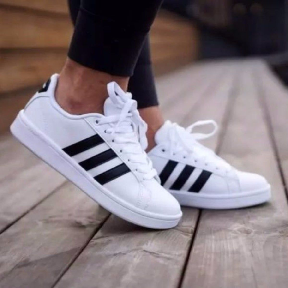 Adidas Women's Grand Court Sneakers in