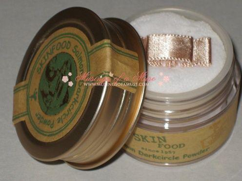 Skin Food Salmon Dark Circle Powder Review – Musings of a Muse