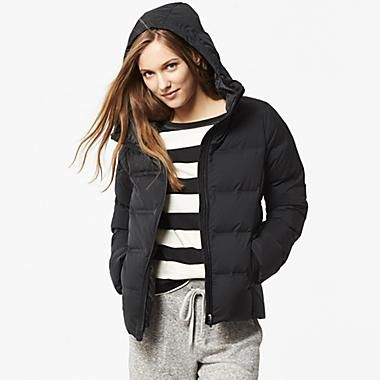 0042d95f6 Uniqlo WOMEN SEAMLESS DOWN HOODED JACKET | Style - Winter | Uniqlo ...