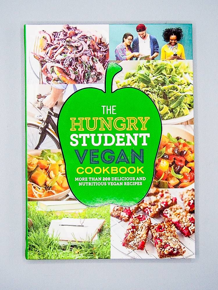 The Hungry Student Vegan Cookbook Vegan Christmas Gifts