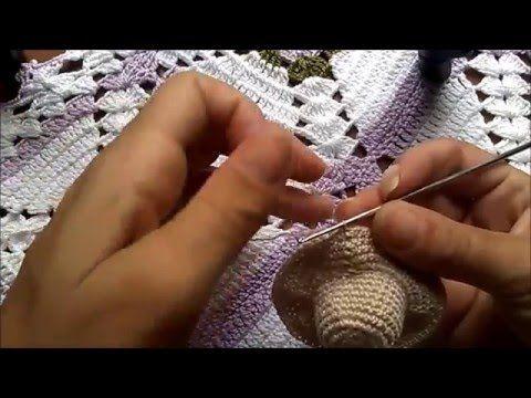 Passo A Passo Chapeu Croche Para Barbie Youtube Com Imagens