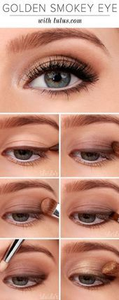 Photo of 16 simple, step-by-step eyeshadow tutorials for beginners, # beginners #balayagehairblue #e …