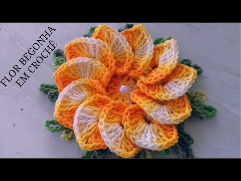 c9bb201b9f Crochet Washcloth - Aprenda agora a fazer esta linda e Formosa Flor ...