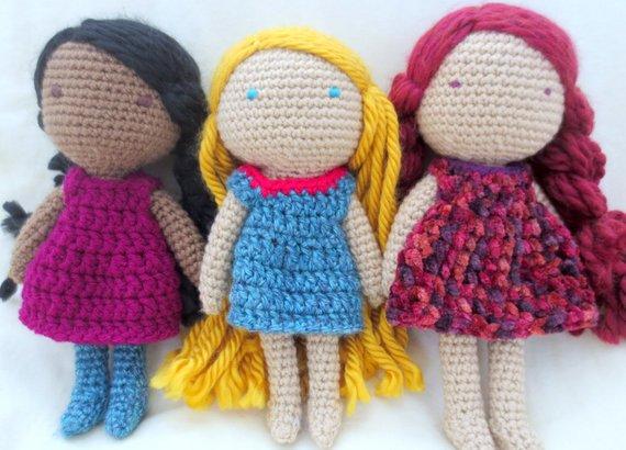 On Sale Crochet Doll Pattern Amigurumi Doll Pattern Crochet Doll