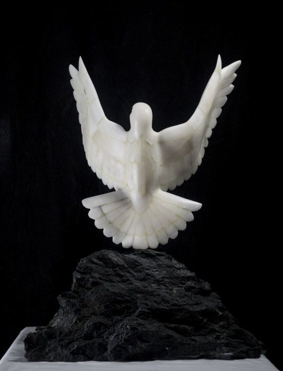 Wildlife Art Soapstone Dove Sculpture Soapstone Sculpture Stone