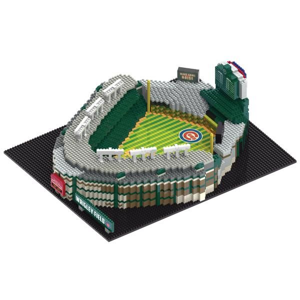 d83752f69f6 Wrigley Field MLB Chicago Cubs 3D BRXLZ Stadium Blocks Set