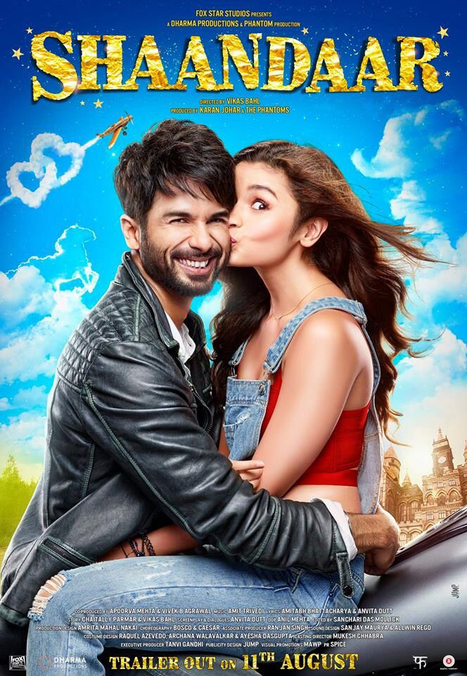 Alia Bhatt Shandaar Indian Movie Songs New Movies Hindi Movies