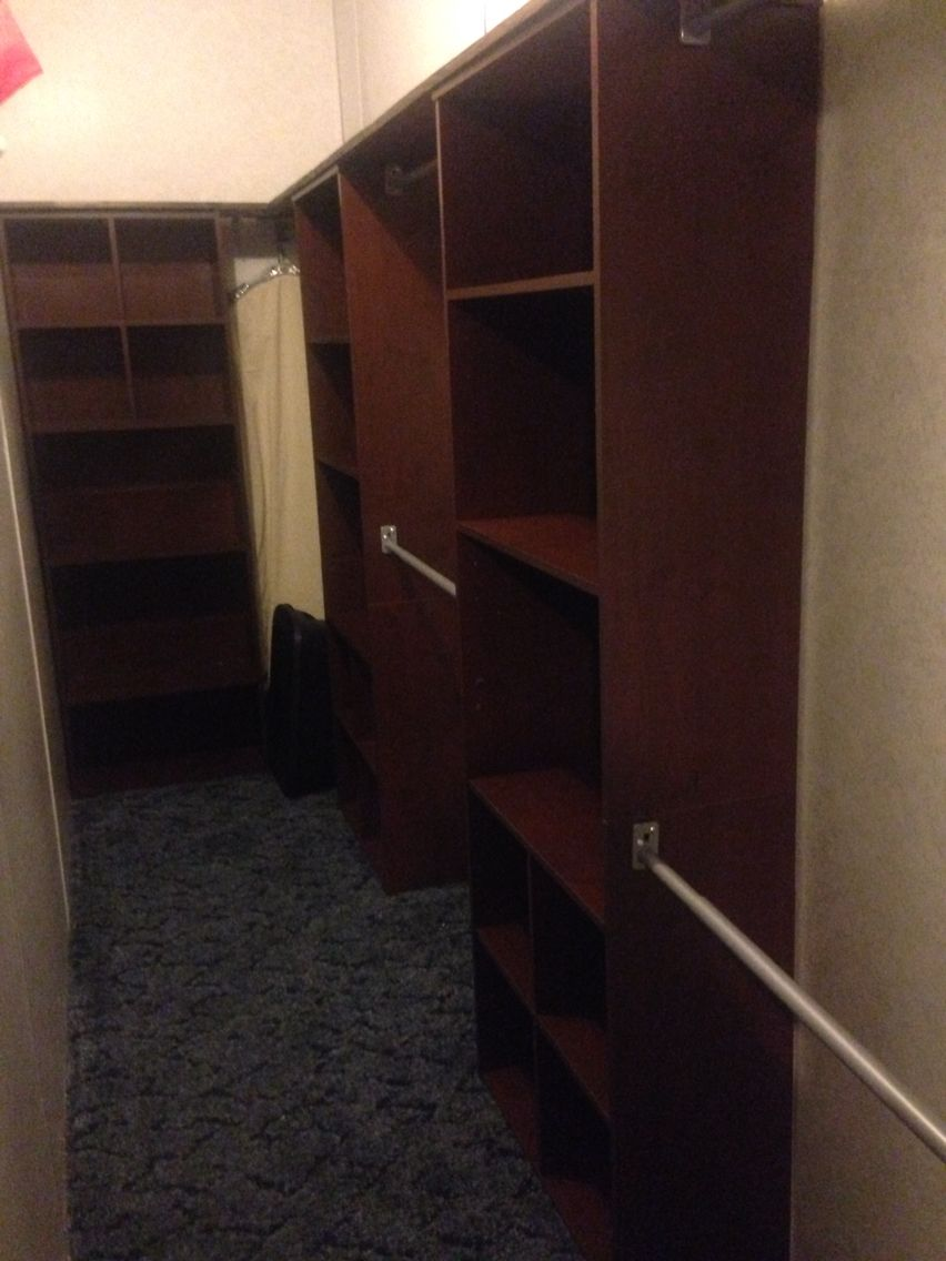 Lowes Closet Rod Captivating We Actually Took 3 Bookcases From Big Lots 6 Closet Rods From