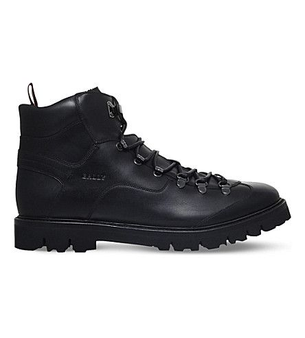clearance prices meet outlet boutique BALLY Chamonix Leather Hiking Boots. #bally #shoes #boots ...