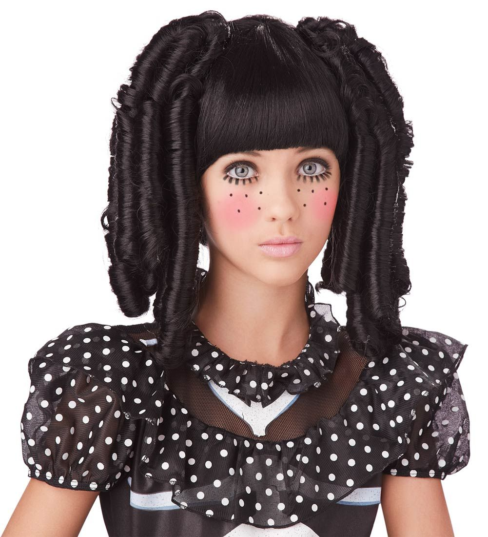 Baby Doll Curls Girls Costume Wig - Costume Wigs | Holiday ...