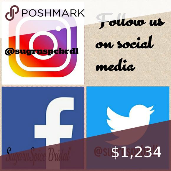 Follow Us On Social Media Social Media Social Media