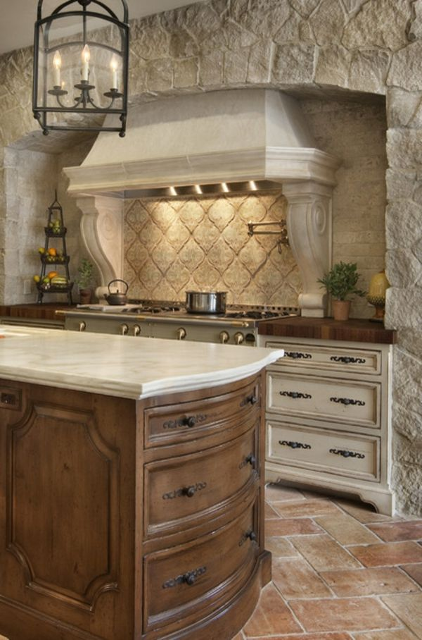 Mediterranen Küche suche nach küchenschränken steine küche leuchter favorite spaces