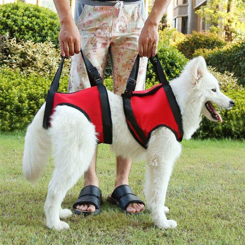 d23a4adb2f46605175c75e9465ee14c9 2colors portable dog lift support auxiliary belt rehabilitation