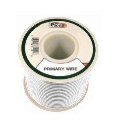 Pico 81107j 10 Awg White Primary Wire 10 Per Package By Pico 5 95 Single Conductor Copper Electrical Wiring Electrical Wire Connectors Wire Cover