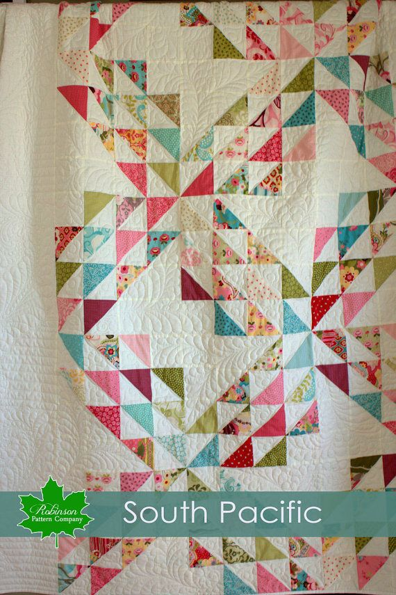 Quilt Pattern - South Pacific - big and bold new version of the ... : big and bold quilt pattern - Adamdwight.com