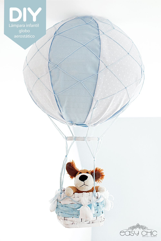 diy lmpara infantil globo aerosttico