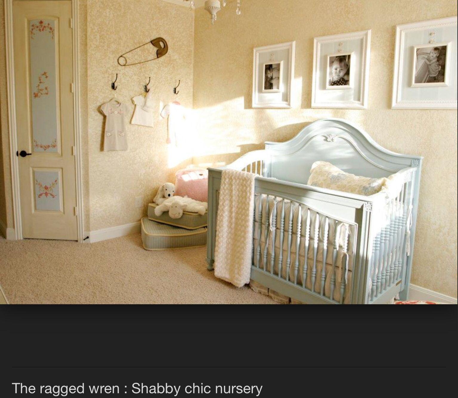 Shabby chic Nursery Pinterest