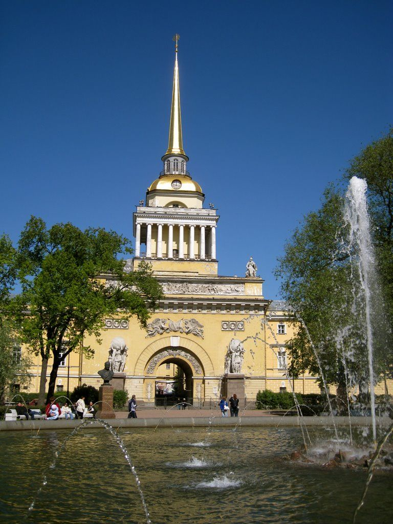 Admiralty Garden in St. Petersburg - one of the best parks in the city