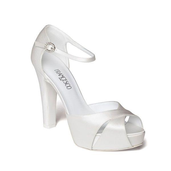 Scarpe Da Sposa Bianche.Pin Di Ainhoa Su Zapatos Scarpe Da Sposa Scarpe Da Matrimonio E