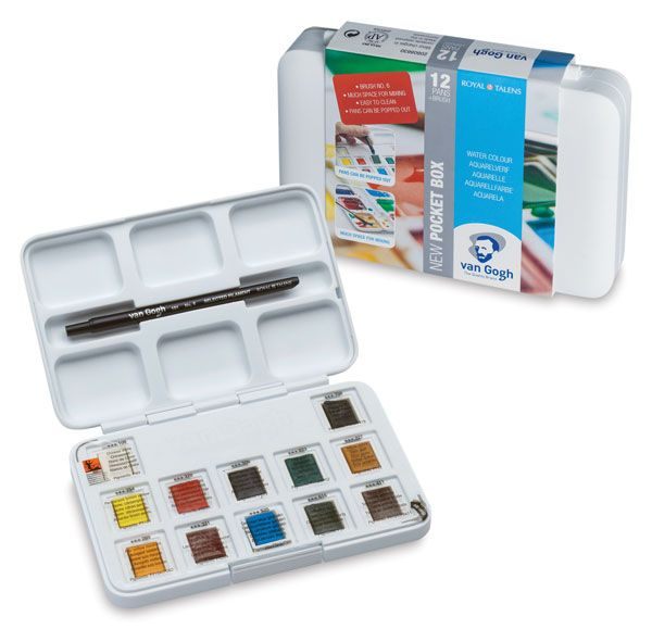 Van Gogh Watercolors And Sets Van Gogh Watercolor Van Gogh Oil