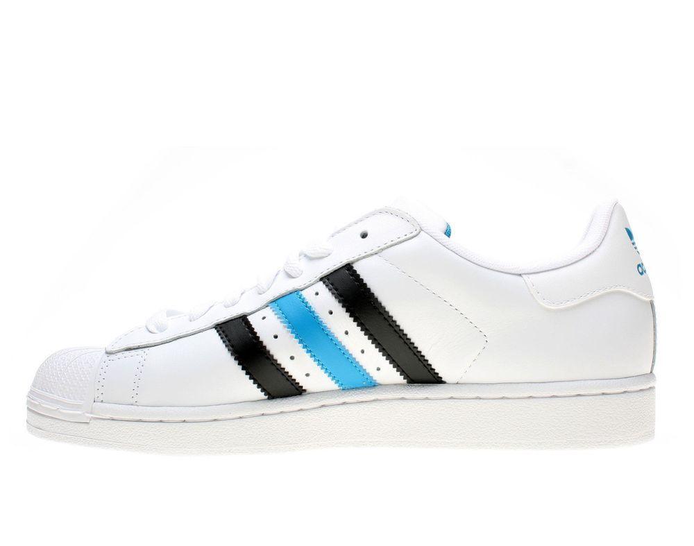 Adidas Superstar 2 WhiteTurquoise Size 17 G59927 #adidas